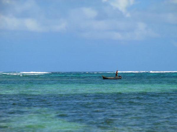 san blas fisherman