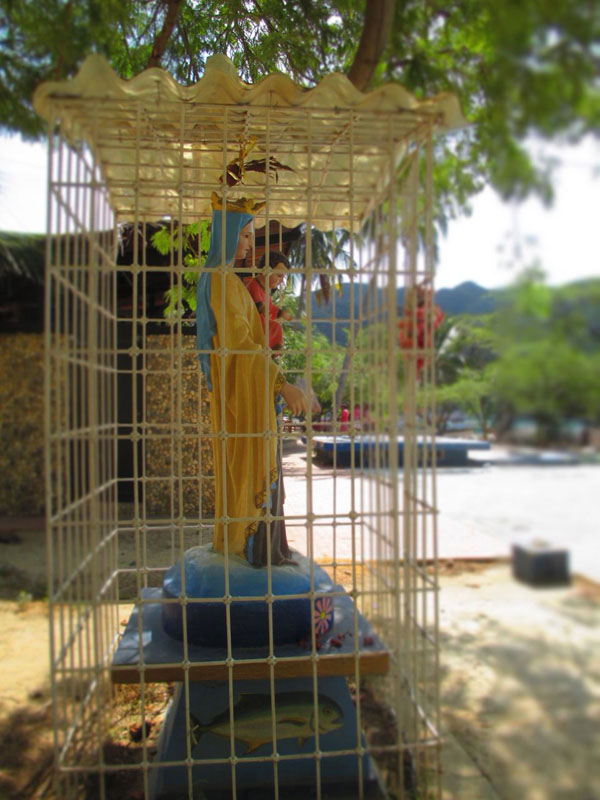 mary in a cage taganga