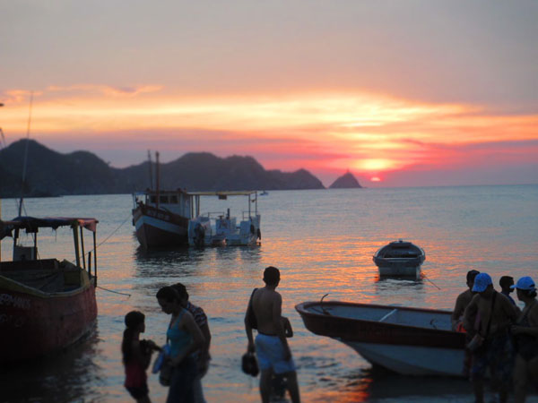 taganga sunset