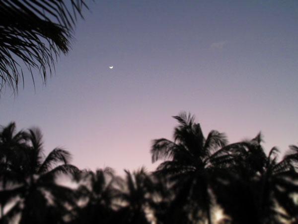San Blas Moon