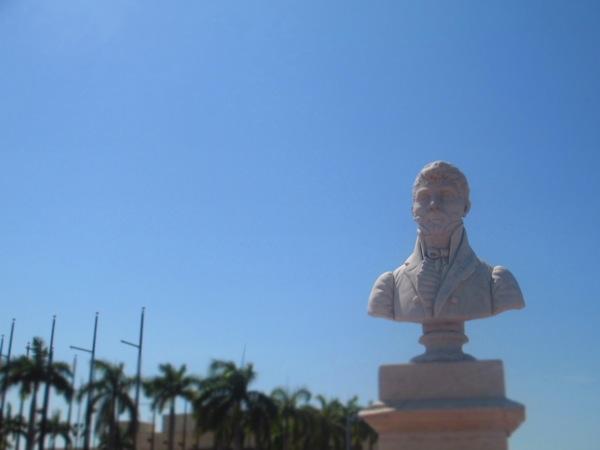 Cartagena statue