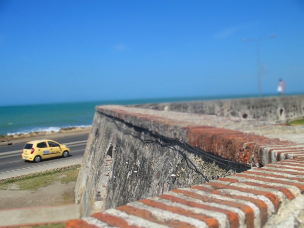 Cartagena wall