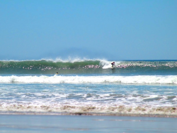 Playa Guiones surfing