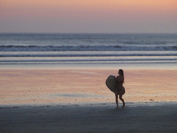 Costa Rica Surfer Girl