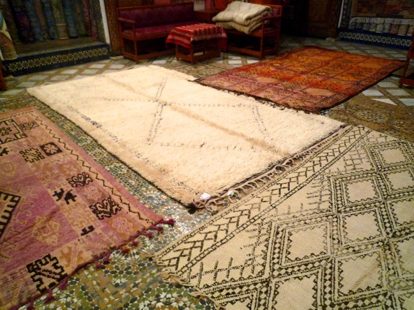 Rugs in Fez