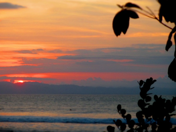 sunset Pavones