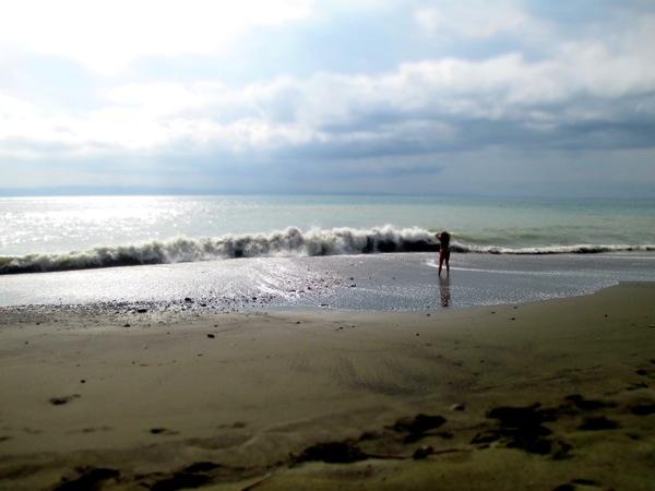 pavones playa negra