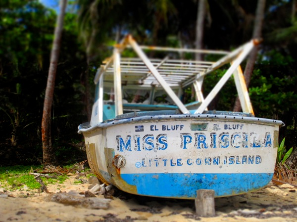 Little Corn Island Miss Priscilla